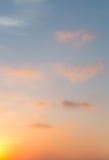 Blurred twilight sky Stock Image