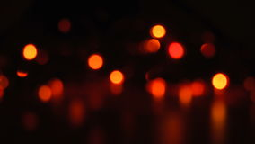 Blurred unfocused background with lights. Magic blurred unfocused background with lights at black background stock video