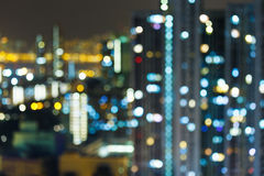 Blurred unfocused building light Stock Photography