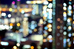 Blurred unfocused city view Royalty Free Stock Image