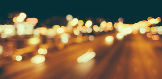 Blurred unfocused city view Royalty Free Stock Photo