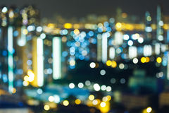 Blurred unfocused city view Stock Photo