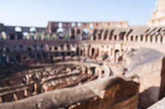 Blurred unfocused picture Coliseum. Rome. Italy.  royalty free stock images
