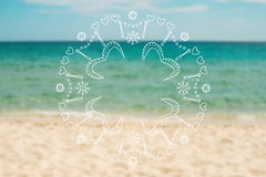Blurred vacation background Royalty Free Stock Image
