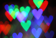 Blurred valentine background Royalty Free Stock Photo