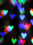 Blurred valentine background Stock Photos