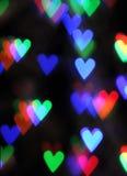 Blurred Valentine Background Stock Photos