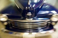 Blurred vintage car Stock Images