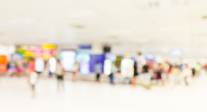 Blurred waiting  zone in airport,use as background Royalty Free Stock Images