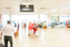Blurred waiting  zone in airport,use as background Stock Photography