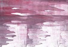 Dirty pink abstract wash drawing texture vector illustration