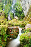 Blurred Waterfall Stock Photography