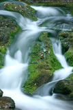 Blurred waterfall royalty free stock photo