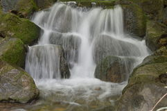 Blurred waterfall Royalty Free Stock Photos
