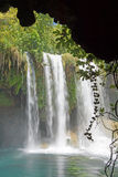 Blurred waterfalls of Duden park Stock Photography