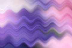 Blurred wave line, colorful abstract background Stock Photo