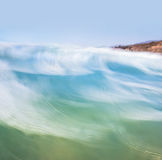 Blurred Wave Motion Stock Images