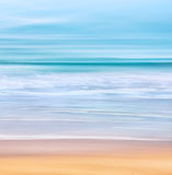 Blurred Wave Seascape Royalty Free Stock Images