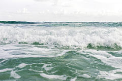 Blurred of waves while moving. Stock Photography