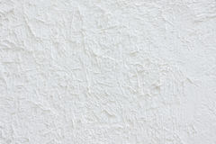 Blurred white stucco wall, abstract background.  Royalty Free Stock Photography