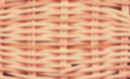 Blurred wickerwork basket texture Royalty Free Stock Photo