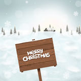 Blurred winter background Stock Images