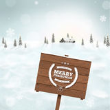 Blurred winter background Stock Photos