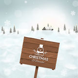 Blurred winter background Royalty Free Stock Photo