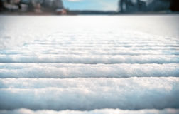 Blurred Winter Snowy Background Royalty Free Stock Photo