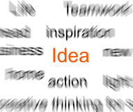 Blurred words royalty free stock photos