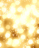 Blurred xmas lights Royalty Free Stock Images