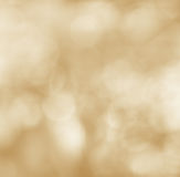 Blurred yellow bokeh abstract background Stock Photo