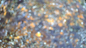 Blurring the image colorful festive lights Stock Photos
