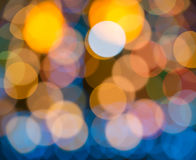 Blurring lights bokeh background Royalty Free Stock Images