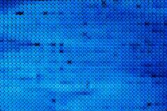 Blurring lights bokeh background of circles. Blurring lights bokeh background of blue circles stock illustration