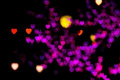 Blurring lights bokeh background royalty free illustration