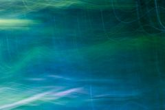 Blurry abstract background of green summer forest Royalty Free Stock Photography