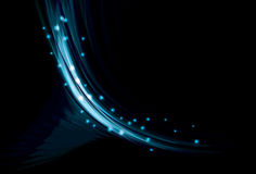 Blurry abstract blue background Stock Images