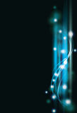 Blurry abstract blue light effect background Royalty Free Stock Images
