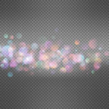 Blurry abstract bokeh. EPS 10 Royalty Free Stock Images