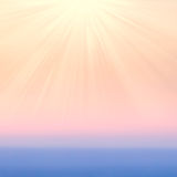 Blurry abstract  gradient backgrounds with sunlight. Smooth Past Stock Photo