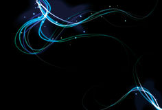 Blurry abstract light effect background Royalty Free Stock Photography