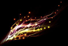 Blurry abstract light effect background Royalty Free Stock Photo