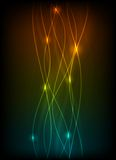 Blurry abstract light effect background Stock Images