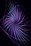Blurry abstract purple pinwheel background stock illustration