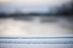 Blurry abstract winter background Stock Photography