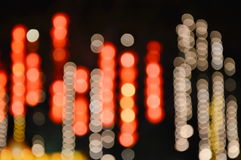 Blurry artificial light Royalty Free Stock Image