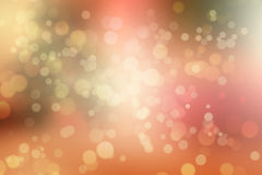 Blurry background with bokeh circles Stock Image