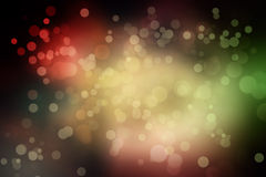 Blurry background with bokeh circles Royalty Free Stock Photo