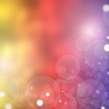 Blurry background circles - christmas lights background Royalty Free Stock Photos